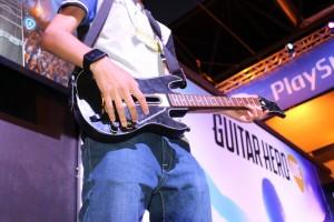 Disfrutando del nuevo Guitar Hero Live