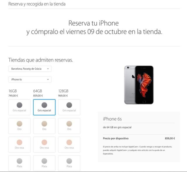 Reservas_iPhone6s