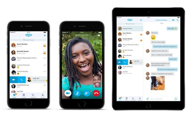 Las videollamadas grupales en Skype llegan a iOS