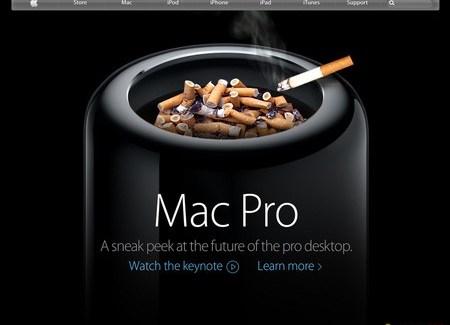 ¿Que te sugiere el diseño del nuevo Mac Pro?