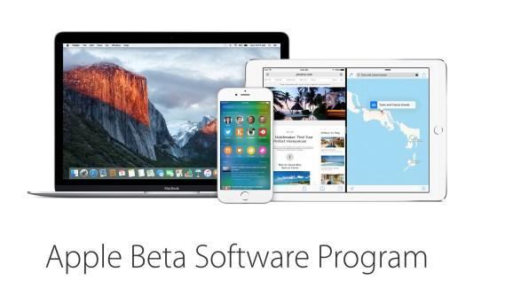 Betas para los sistemas operativos iOS y OS X