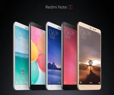 El Xiaomi Redmi Note 3 ya es oficial