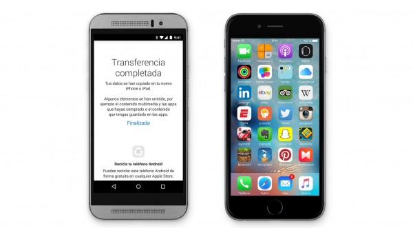 Cómo pasar de Android a iPhone de manera sencilla