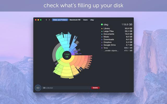 DaisyDisk, ayuda a encontrar lo que más ocupa de tu Mac