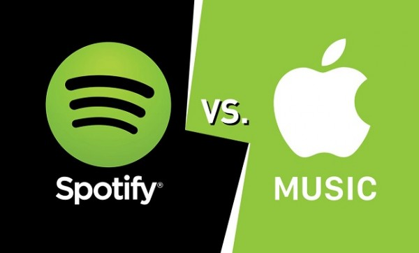 La app Música y Apple Music vs Spotify