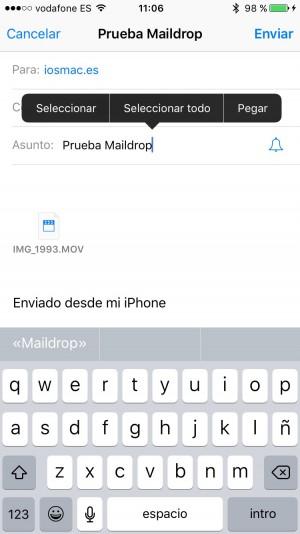 test maildrop
