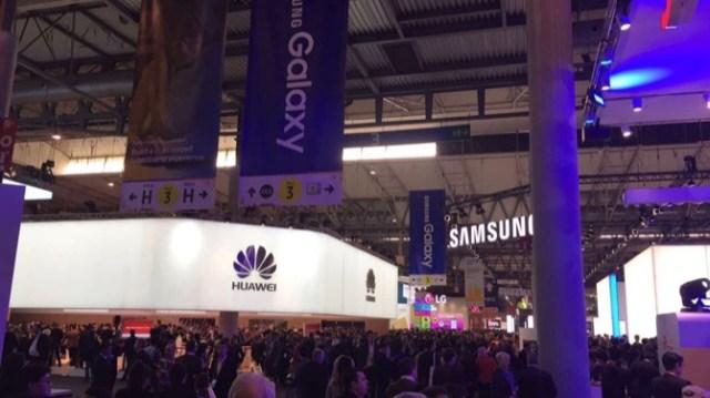MWC16 Huawei