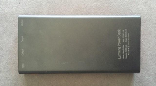 Lumsing Bateria Externa 1