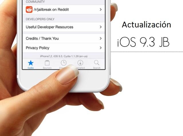 Jailbreak iOS 9.3 … 9.1 Actualización [Marzo 2016]