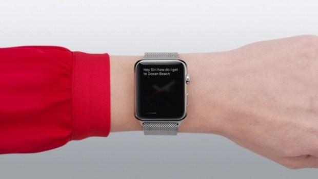 Siri Apple Watch