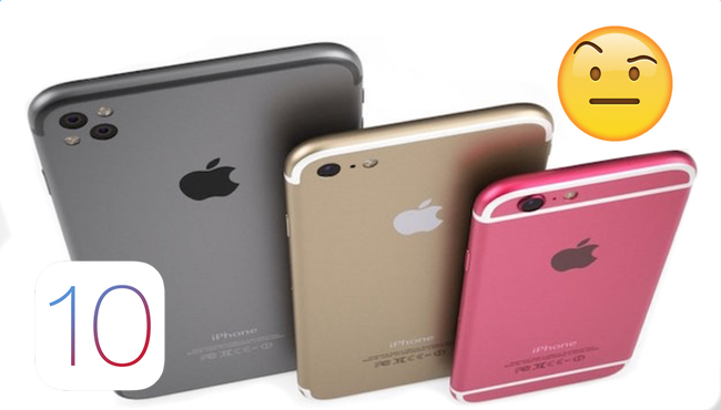 Los 5 rumores del iPhone 7 que no convencen a los usuarios