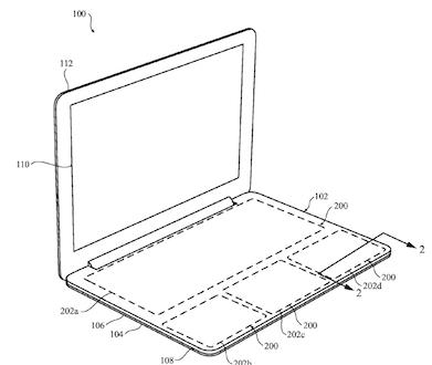 Una patente de Apple sustituye el teclado por una superficie con Force Touch