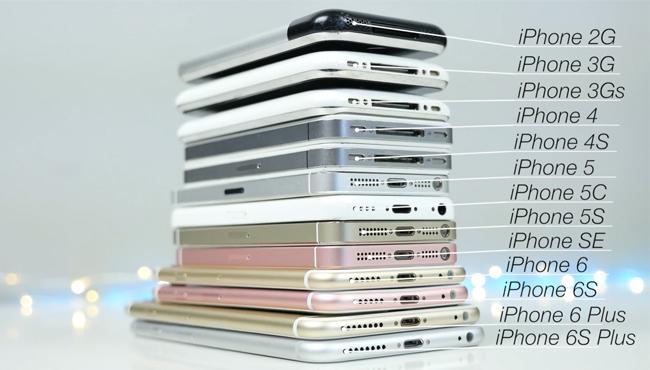 iPhone: la evolución del hardware a través de los años [Vídeo]