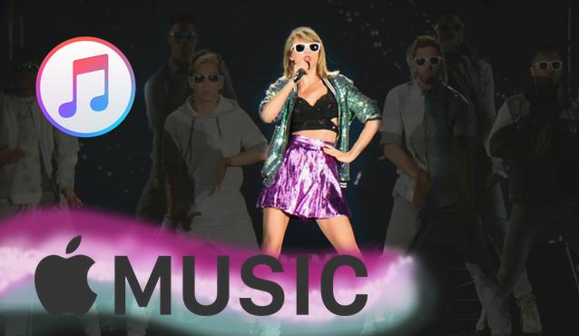 Música en estiramiento, Apple Music