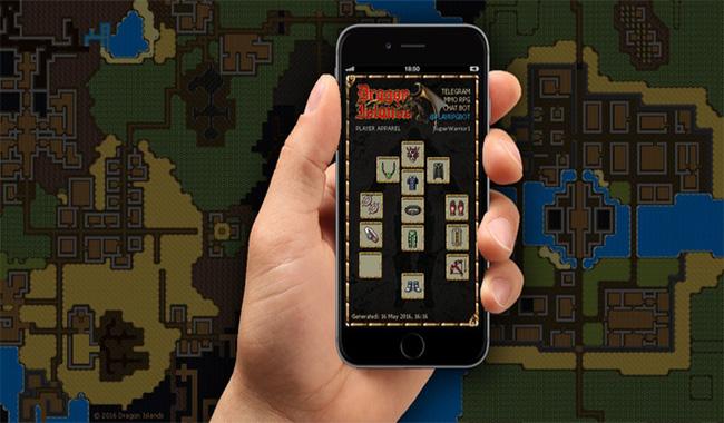 Dragon Islands, el primer videojuego en Telegram