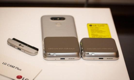 LG X Cam y sus múltiples visores