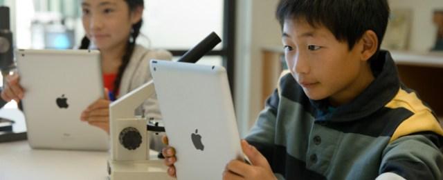 iPad en la educación