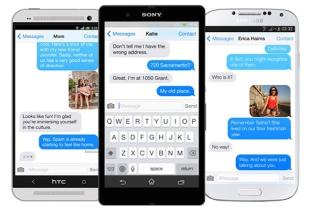 iMessage en dispositivos Android