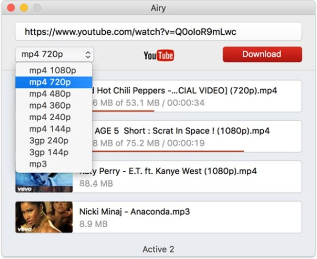 Airy Youtube Download