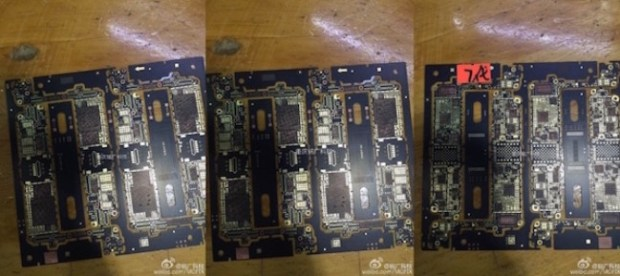 La placade circuitos ya se encuentra en producción, y las imágenes nos confirman cambios en la cámara y en el botón inicio.