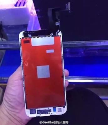 Primeras imágenes del iPhone 7 en producción