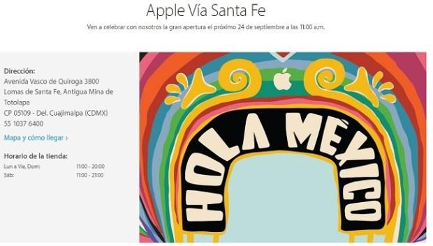 Apple via santa fe 24sep2016