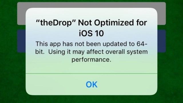 app-no-optimizada-ios10