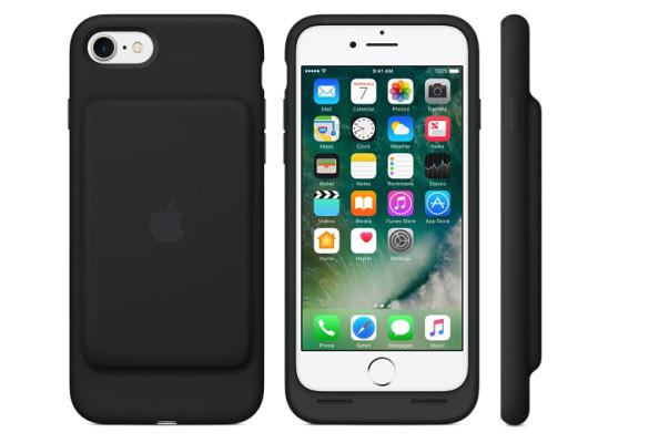 Apple lanza la funda Smart Battery Case para el iPhone 7