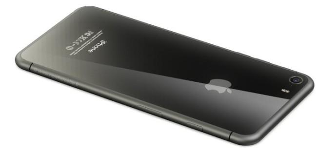 iPhone 8: Cuerpo de vidrio y acero inoxidable