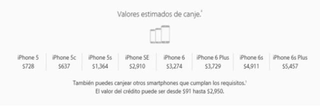 Cambia tu iPhone