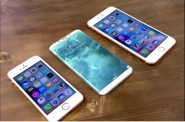 iPhone 8 - concept 3 models