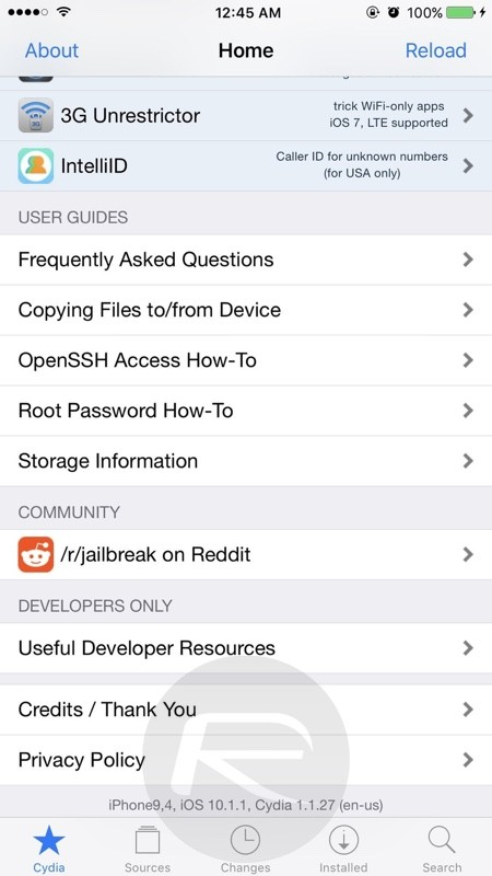 Cydia-on-iOS-10.1.1
