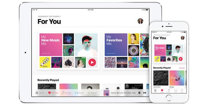 iPad App - Apple music