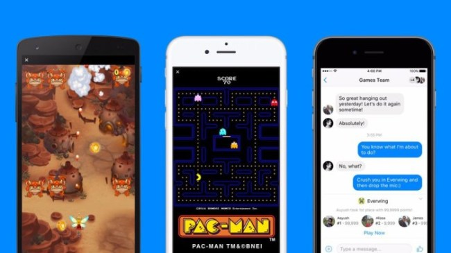 juegos facebook messenger