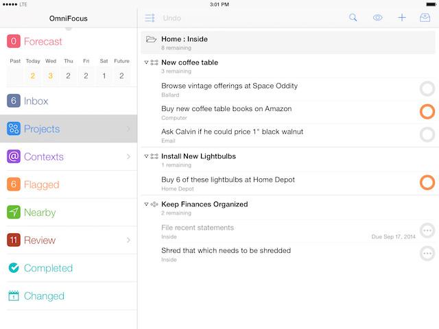 OmniFoucs-iPad