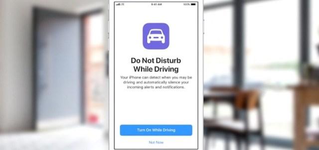Do not disturb while driving iOS 11