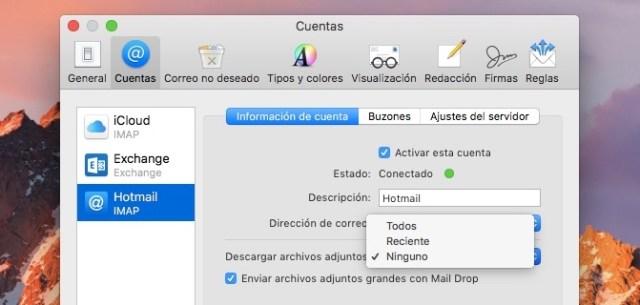archivos adjuntos en mail