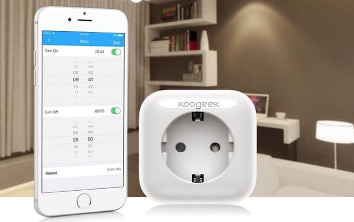 Enchufe Inteligente Apple Homekit de Koogeek