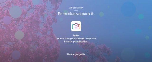 Infltr gratis – Apple Store