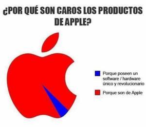 ¿Porqué los productos de Apple son tan caros?