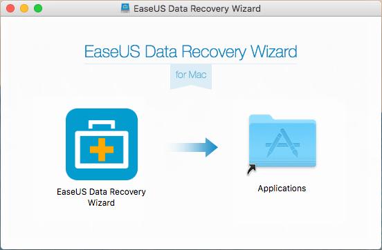EaseUS Mac Data Recovery Wizard para Mac: instalación