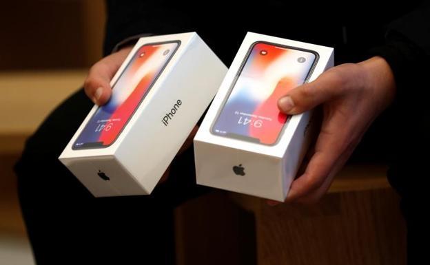 iPhone X caja