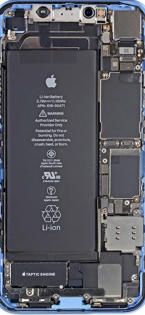 Ifixit Iphone Se Wallpaper El Interior De Un Iphone Xr Ahora Puede Ser Tu Fondo De