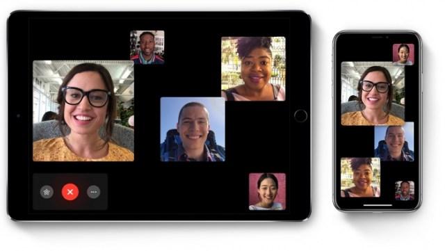 FaceTime en iPhone y iPad