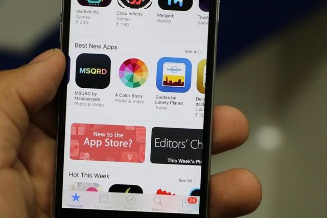 Aplicaciones de iPhone graban tu pantalla