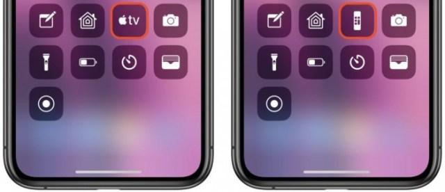 Apple TV Remote Centro de control