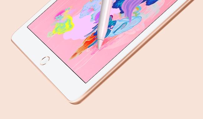 iPad con Apple Pencil