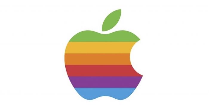 logo arcoíris Apple