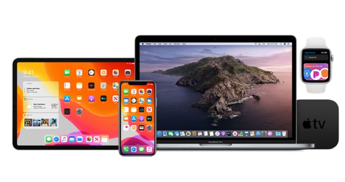 iOS 13, iPadOS 13, watchOS 6 y tvOS 13 beta 6