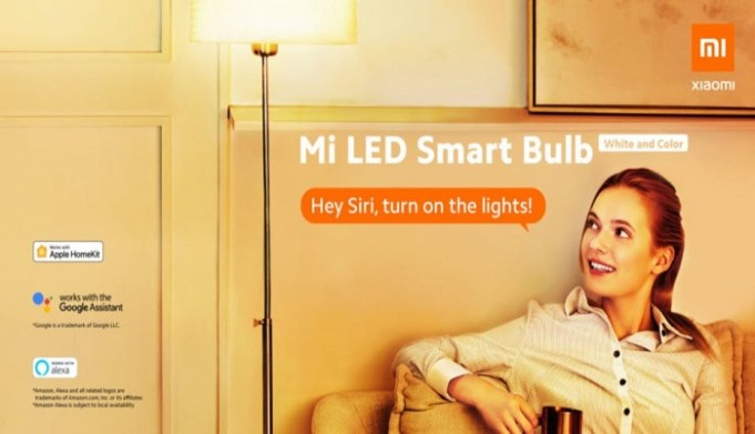 Mi LED Smart Bulb en HomeKit y Siri